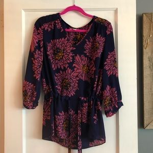 Banana Republic Floral Tunic